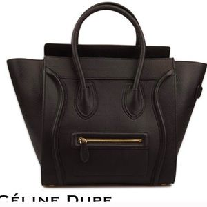 Handbags - Genuine leather black bag